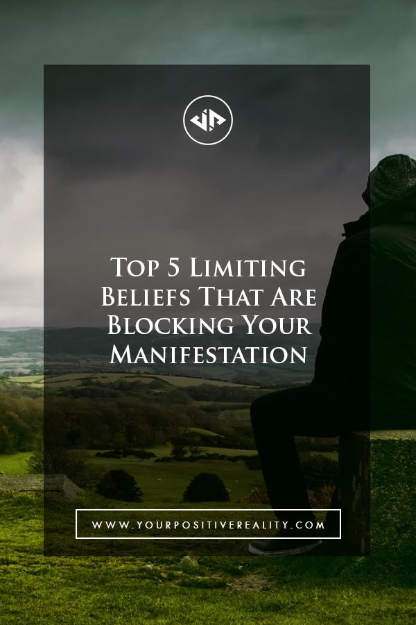 Limiting Beliefs Blocking Manifestation